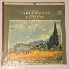 Bizet Carmen - L'Arlesienne LP Vinyl Record Album  Von Karajan Angel IN SHRINK