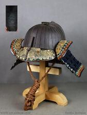 EDO antique【 32ken Suji Kabuto-T0MOYOSHI signature】yoroi samurai japanese ARMOR