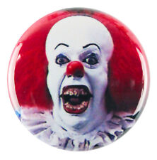 """1"""" (25mm) PENNYWISE the Clown - IT - Button Badge Pin - Custom Badge"""
