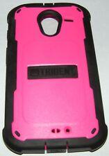 Trident Cyclops Hybrid case for Motorola Moto X, Pink & Black, w b i screen prtr