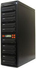 9 Burner MDisc DVD CD Duplicator Copier Copy Machine System Duplication Tower