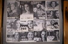 Kerri Russell 48 TV Guide Ads FELICITY,etc.