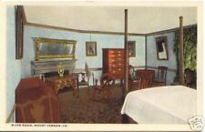 Mount Vernon Va River Room ~ VINTAGE Colored