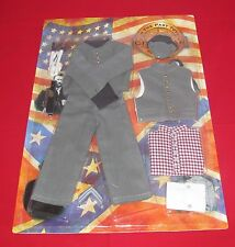 """In The Past Toys Confederate Army Civil War Uniform Set  For 12"""" Action Figures"""