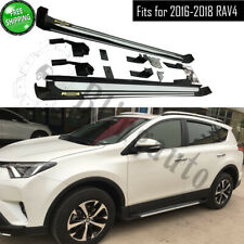 Fits for Toyota RAV4 2016 2017 2018 side step nerf bars running board car pedal