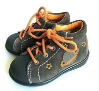 Pepino baby Andy first walker leather lace up fexible