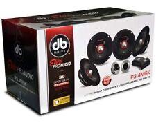 """Brand New P3 4M6K 6.5"""" 4 X Mid Component Kit SPL Sound Q Elite Audio"""