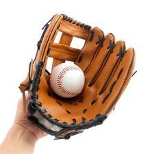 Left Leather Softball Baseball Glove Batting Gloves Gloves Mitt Men Adult Outfie