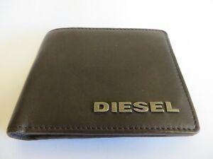 Genuine DIESEL real leather brown wallet
