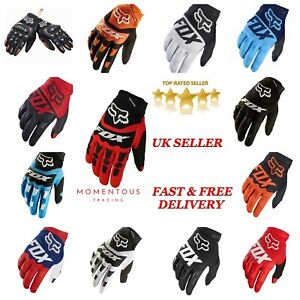 FOX Gloves MotorCross Racing Motorcycle Gloves Cycling Bicycle MTB Bike Riding