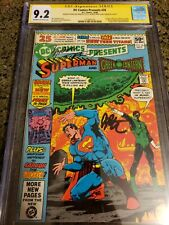 DC Comics Presents #26 - CGC SS 9.2 -First App.Of New Teen Titans. Signed 3X