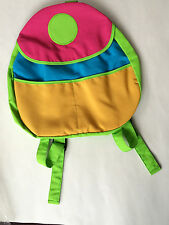 Colorful Kids 15″ Backpack, knapsack. For school, travel or just for fun!