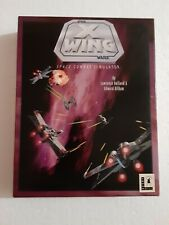 Star Wars X-Wing Space Combat Simulator LucasArts RARE Big Box 5+1 Disks PC IBM