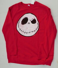 Mens 2XLT 2XL Tall Nightmare before Christmas sweatshirt ugly sweater red new