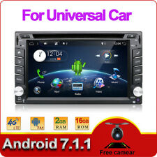 AUTORADIO MIT ANDROID 7.1 WiFi GPS NAVIGATION TOUCHSCREEN USB SD BLUETOOTH 2DIN