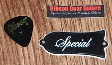 Gibson Les Paul Truss Rod Cover Special DC Doublecut Lefty Guitar Parts SG HP T