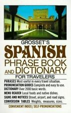 Grosset's Spanish Phrase Book and Dictionary for Travelers (Perigee) (Engli