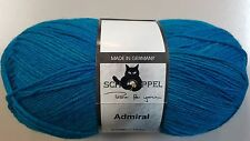 Schoppel Wolle Admiral Sock Yarn #4780 Turquoise 100g