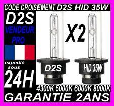 2 AMPOULES D2S 35W 12V LAMPES DE RECHANGE REMPLACEMENT FEU XENON KIT HID 6000K