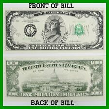 (200) Fake Million Dollar Bills ~ Real Looking Novelty Play Money ~ wholesale