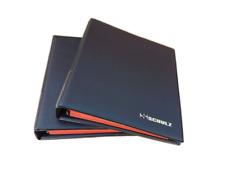 Coin Album Collection Holder Folder Binder Storage Book Case 221 SCHULZ Black
