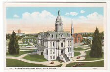 Court House Salem Oregon 1920c postcard