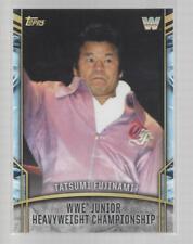 2017 TOPPS LEGENDS OF WWE Retired Titles #18  TATSUMI FUJINAMI / WWE JUNIOR