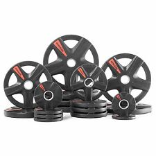XMark's TEXAS STAR 365 lb. Select Rubber Coated Olympic set XM-3389-BAL-365