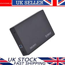 ORICO 3.5 Inch USB 3.0 to SATA III HDD Hard Drive Enclosure Caddy Case 6 Gbps BK