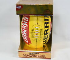 Sherrin Official AFL-W Leather Football - Size 4 Women's Game Ball - NEW in Box