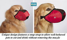 Adjustable Soft Mesh Comfort Dog Muzzle-Terrier,Beagle,Poo dle,Lhasa Apsos,Westie