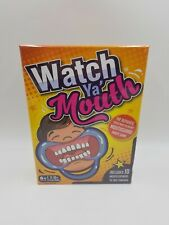 Watch Ya' Mouth Family Funny Hilarious Party Board Game Speak Mouth Guard NEW