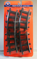 LIONEL LARGE SCALE READY TO PLAY CURVE TRAIN TRACK 12 PACK 7-11827 (12) NEW