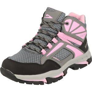 Galop Mädchen Schuhe Tex Boots Schnürstiefel Trekking Wandern L24504 Grau NEU