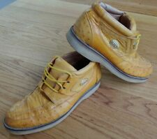 Sefeni Comfort Ostrich / Alligator Leather Fashion Boots Men's Shoes Size 7