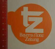Aufkleber/Sticker: tz Bayerns Flotte Zeitung (270716106)