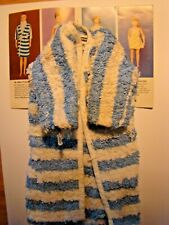 Completer Item Striped Towel Bathrobe Only from Remco Dr John Littlechap No Doll