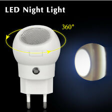 360 Degree Rotating LED Night Light Auto Sensor Smart lighting Control lamp 220V