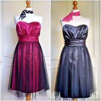 Women's 1950s 60s Vintage Style Rockabilly Swing Dress Retro Party Evening Prom