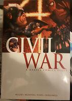Marvel Civil War deluxe HC 1st printing 2011 OOP HTF Avengers X-Men Spider-man