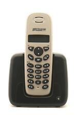 Facile Telefono Cordless ACACIA Grigio-nero By Master Telecom Nuovo