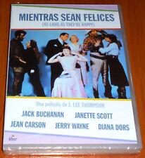 AS LONG AS THEY´RE HAPPY / MIENTRAS SEAN FELICES - English/Español - Precintada