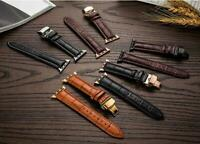 38mm/42mm Men's Women's Genuine Leather iWatch Watch Strap Band for Apple Watch