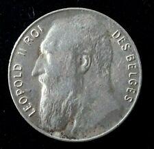 50 Centimes Léopold II légende française 1901