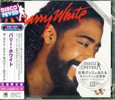 BARRY WHITE-THE RIGHT NIGHT AND BARRY WHITE-JAPAN CD Ltd/Ed B63