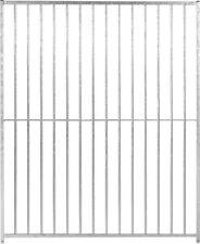 Galvanised Steel Kennel Dog Run Dogrun Panels Doghealth Bolt Together 8cm Gap 1.5m Panel