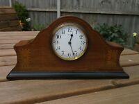 "Bayard Duverdrey & Bloquel Inlaid Mantel Clock ""Super Condition"" Art Deco"