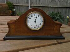"Bayard Duverdrey & Bloquel Inlaid Mantel Clock ""Immaculate Condition"" Art Deco"