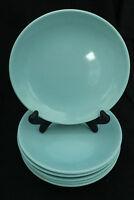 Canonsburg Pottery Temporama Blue BREAD BUTTER Plate Retro Atomic Starburst