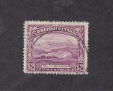BRITISH GUAINA: 1938-52 KGVI definitives $2 Perf 12½ SG 318 £26, fine used.